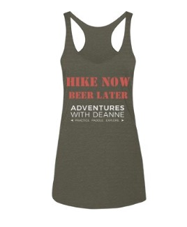 "'Hike Now, Beer Later"" Ladies Tank S/M/L/XL $25"